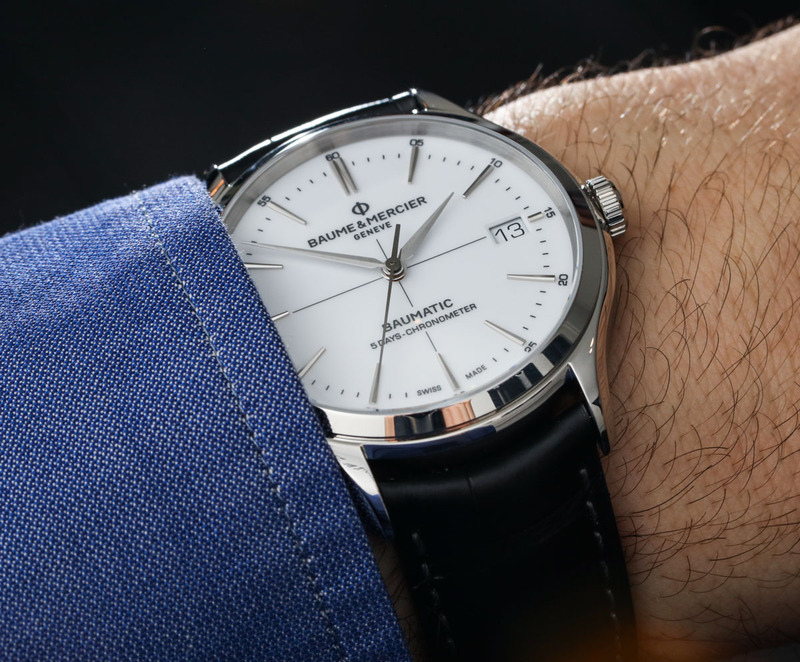 Baume & Mercier Clifton Baumatic 5 Days Watch Hands-On & Why This New Mechanical Movement Matters