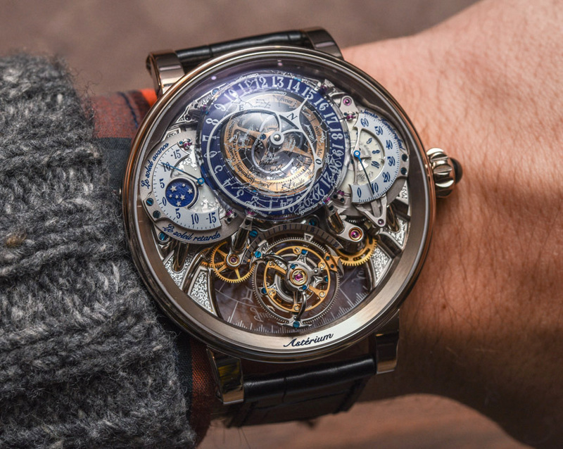 Bovet Récital 20 Astérium Watch Hands-On