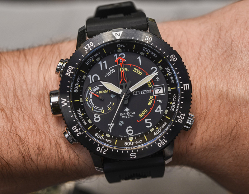 Citizen Promaster Altichron Watch Updated For 2017 Hands-On
