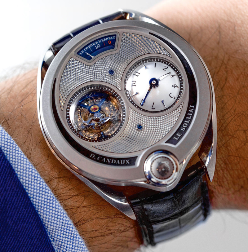 D. Candaux 1740 Half Hunter Tourbillon Watch Hands-On