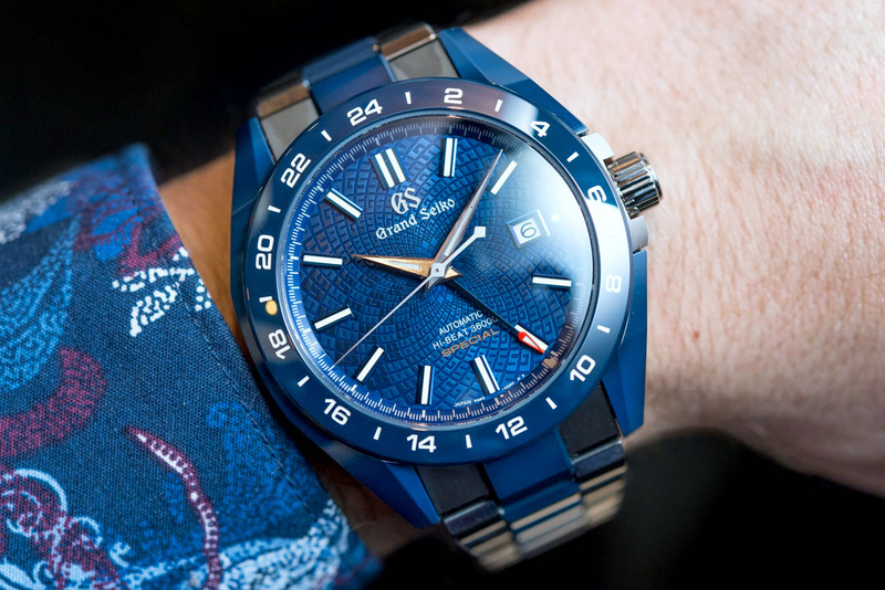 Grand Seiko Blue Ceramic Hi-Beat GMT 'Special' Limited Edition SBGJ229-A Hands-On