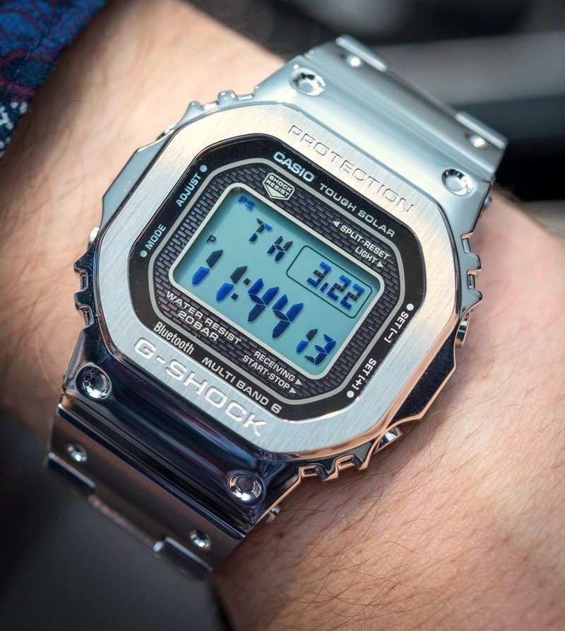 Hands-On With The Casio G-Shock GMW-B 5000 D-1 'Full Metal'