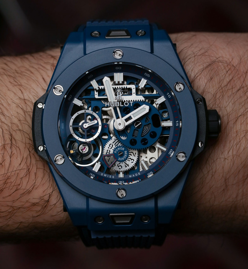 Hublot Meca-10 Ceramic Blue Hands-On & Why This Big Bang Is For Watch Movement Lovers