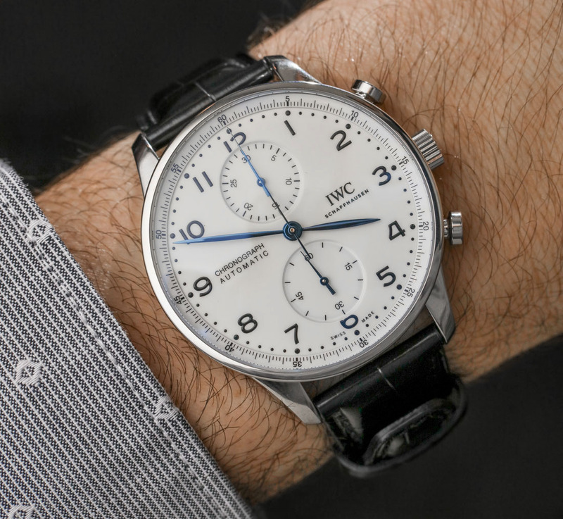 IWC Portugieser Chronograph Edition '150 Years' Watch Hands-On