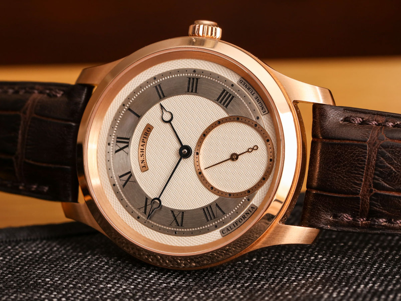 J.N. Shapiro Infinity Watch With Made In Los Angeles Guilloche Dial Hands-On