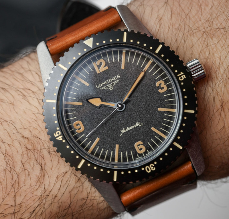Longines Heritage Skin Diver Watch Hands-On