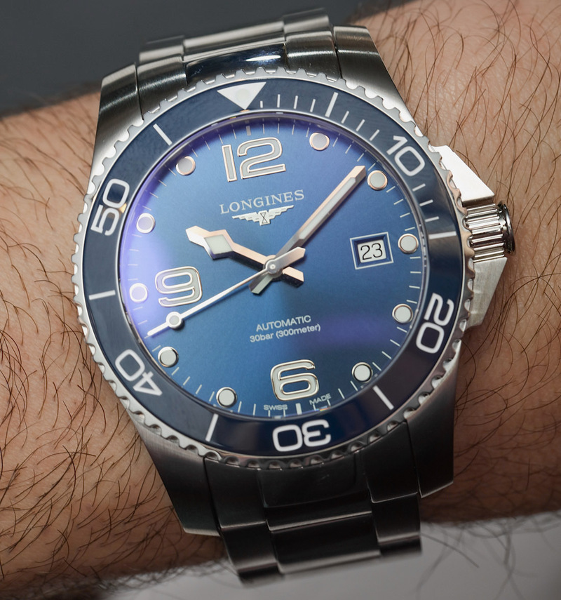 Longines HydroConquest & USA Edition Dive Watches Hands-On