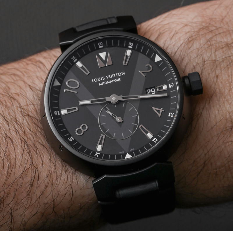 Louis Vuitton Tambour All Black Petite Seconde Watch Hands-On