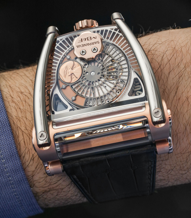MB&F MoonMachine 2 With Stepan Sarpaneva Hands-On