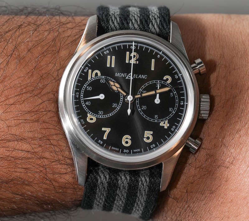 Montblanc 1858 Automatic Chronograph Hands-On