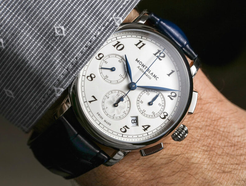 Montblanc Star Legacy Automatic Chronograph Watch Hands-On
