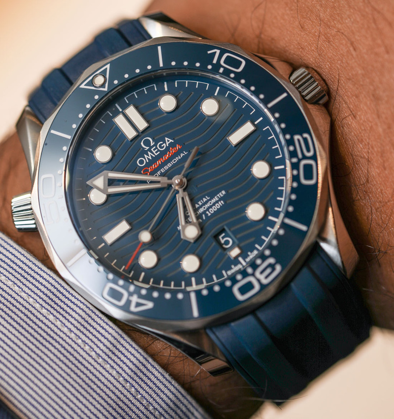 Omega Seamaster Diver 300M Steel Watches For 2018 Hands-On