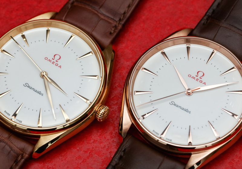 Omega Seamaster Olympic Games Gold Collection Hands-On