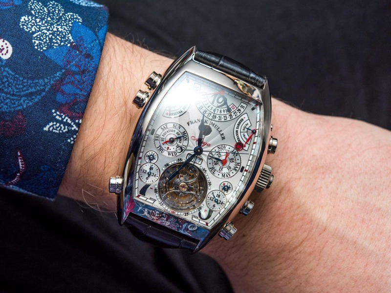 One Of The Most Complicated Wristwatches Ever: Franck Muller Aeternitas Mega 4 Hands-On