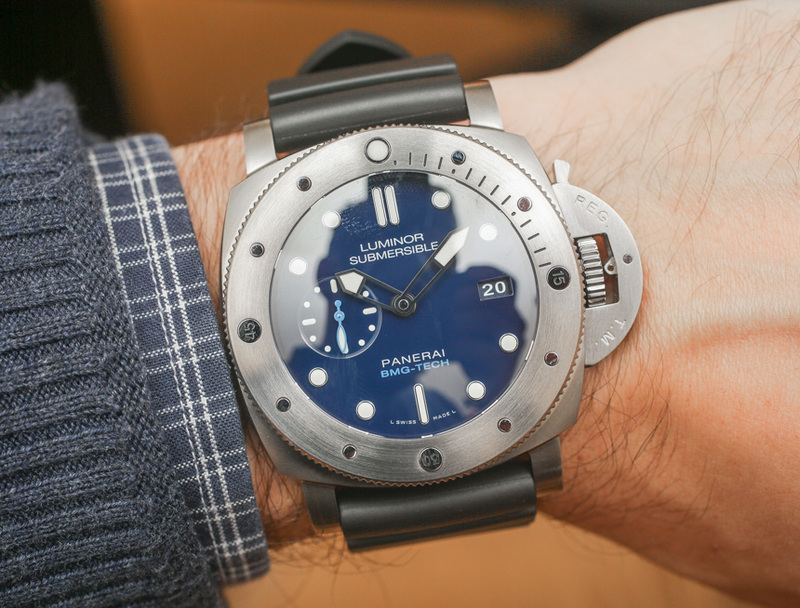 Panerai Luminor Submersible 1950 BMG-TECH 3-Days Automatic PAM 692 Watch Hands-On