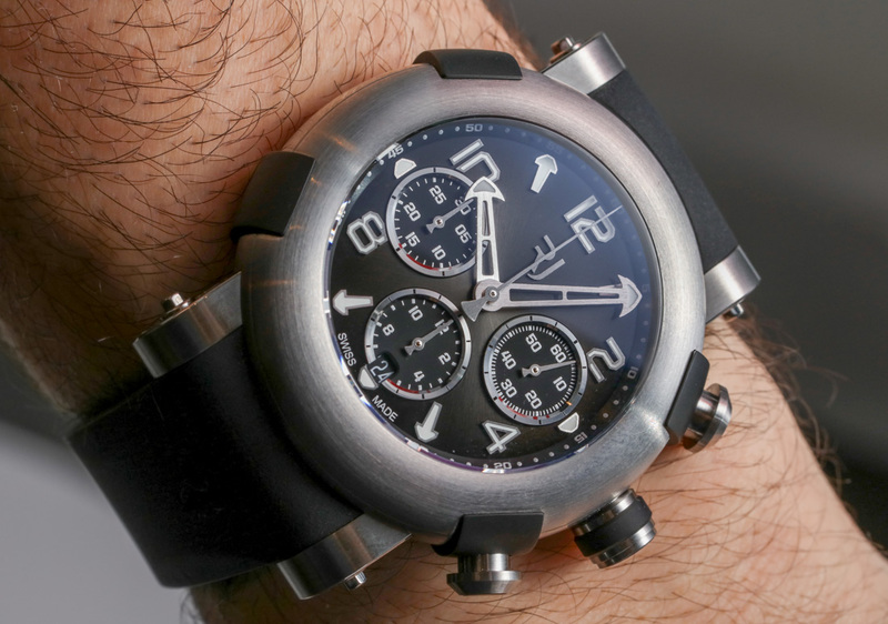 RJ (Formerly Romain Jerome) Arraw Chronograph Watch Hands-On