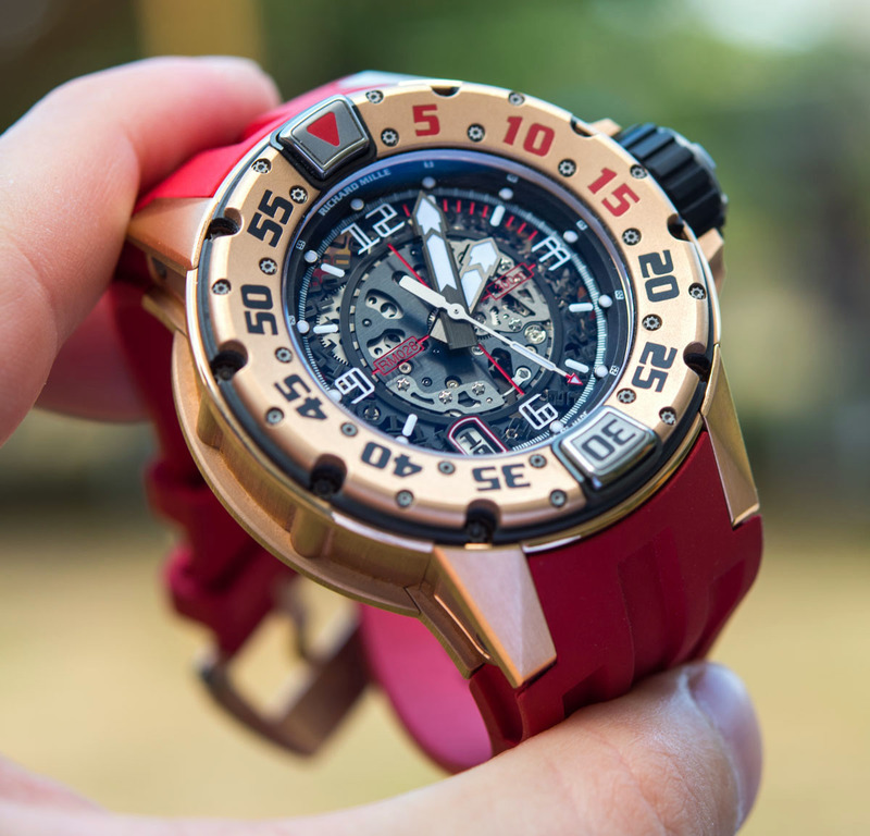 Richard Mille RM 028 Diver In Red Gold Watch Hands-On