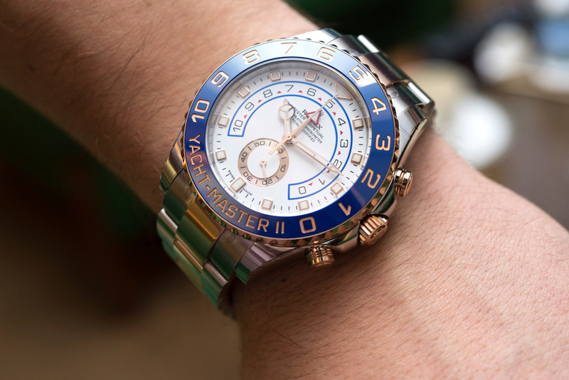 Rolex Oyster Perpetual Yacht-Master II Hands-On