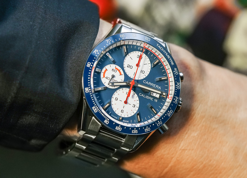 TAG Heuer Carrera Calibre 16 Chronograph Watch Hands-On