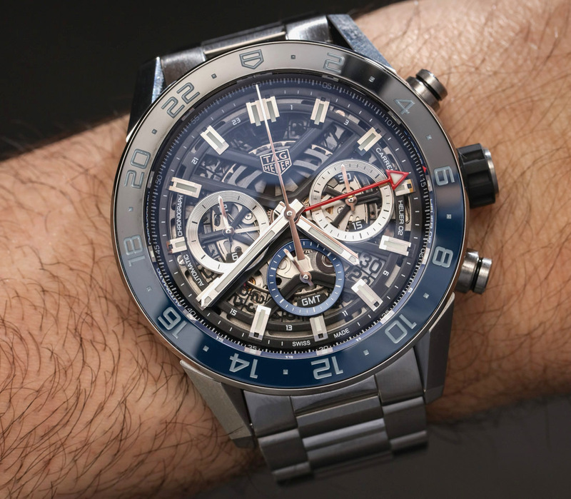 TAG Heuer Carrera Chronograph GMT Hands-On