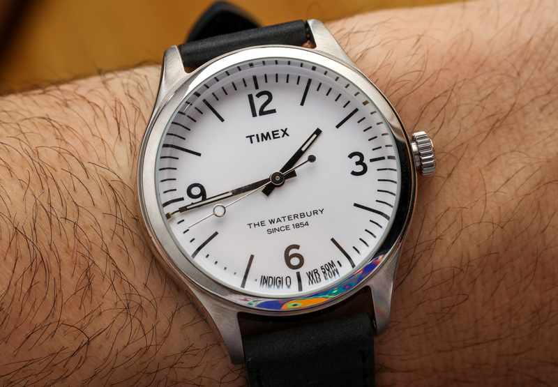 Timex For Mr. Porter Waterbury 792915 Watch Hands-On