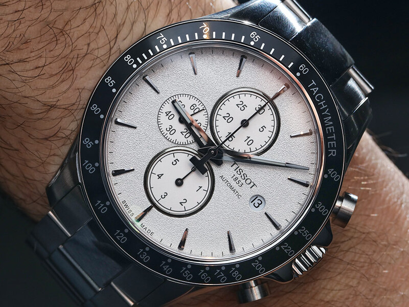 Tissot V8 Automatic Chronograph Watch Hands-On