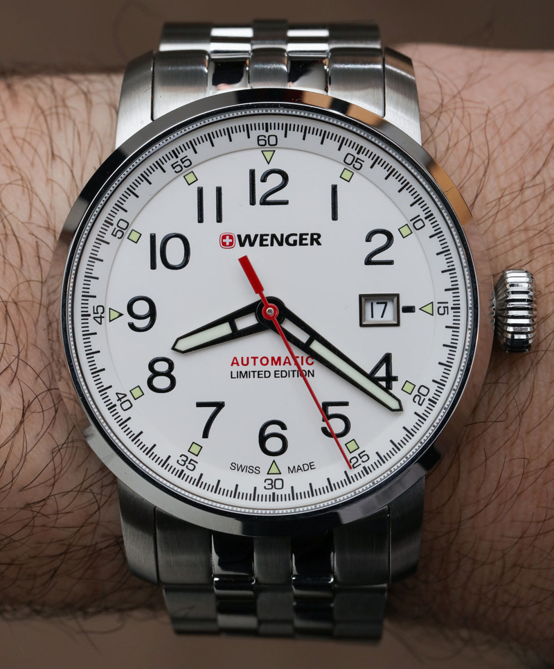 Wenger Attitude Heritage Automatique Watch Hands-On