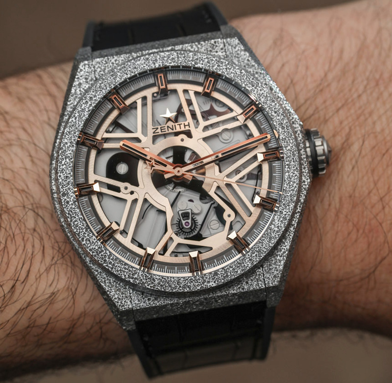 Zenith Defy Lab Watch With 15Hz Movement Is 'World's Most Accurate'