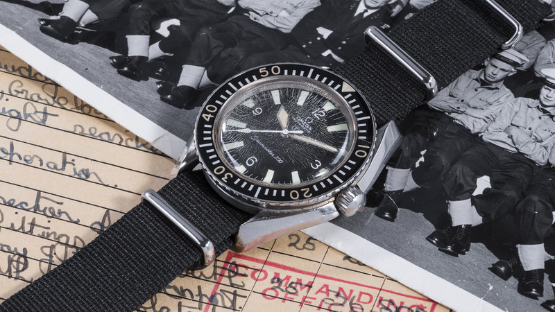 Auctions: A Military Seamaster 300 That Served Its Country (And Survived)