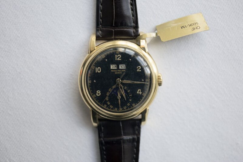 Auctions: Emperor Haile Selassie's Patek Philippe Ref. 2497 Sells For $2.9 Million