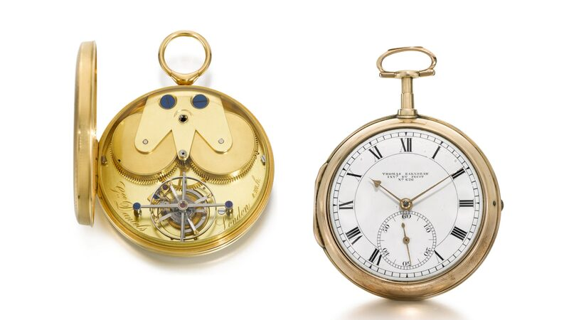 Auctions: Sotheby's 'Celebration Of The English Pocket Watch, Part IV' Produces Mixed Results