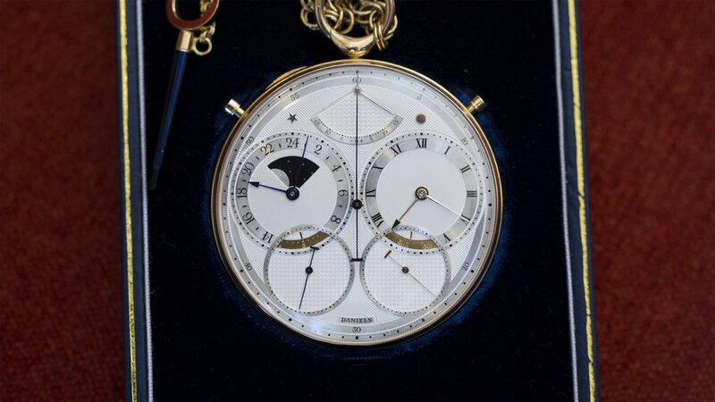 Auctions: Sotheby's To Offer The Daniels 'Space Traveller' Watch, September 19th In London