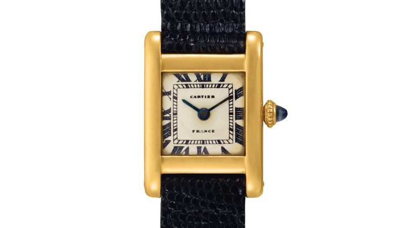 Breaking News: Christie's To Sell Jacqueline Kennedy Onassis's Cartier Tank On June 21 In New York City