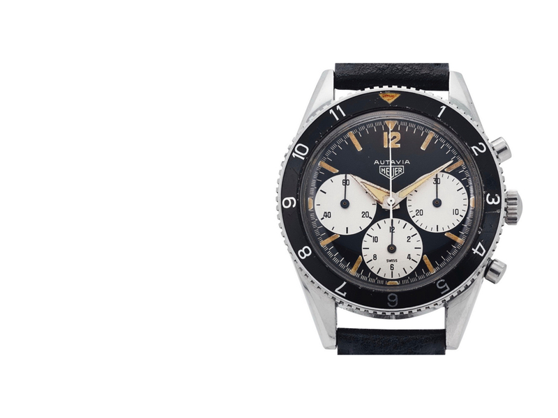 Breaking News: First Generation Heuer Autavia Sells For $125,000 At Christie's New York