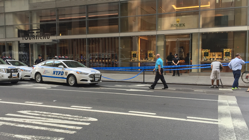 Breaking News: Tourneau's Madison Avenue Rolex Store Robbed At Gunpoint