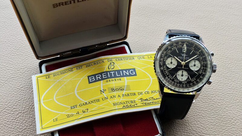 Bring a Loupe: A Full Set Breitling Navitimer 806, A Rolex Submariner Ref. 5514 For COMEX, A Forgotten Heuer Jarama In Steel, And More