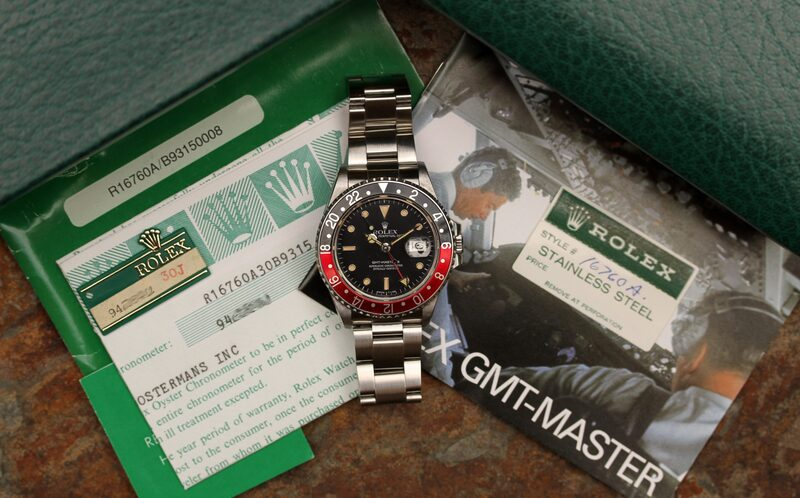 Bring a Loupe: A Full Set Rolex GMT-Master II Ref. 16760, An IWC Ingenieur Ref. 866, A Square Vacheron Constantin 222, And More