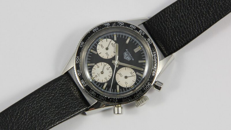 Bring a Loupe: A Heuer Autavia 'Rindt' Reference 2446, An Angular Rolex Date Reference 1530, A Mysterious Wingo Yachtingraf, And More