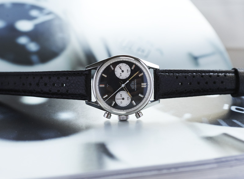 Bring a Loupe: A Heuer Carrera 7753, A Breitling 765 CP 'Jean-Claude Killy,' A Movado Triple Calendar, And More
