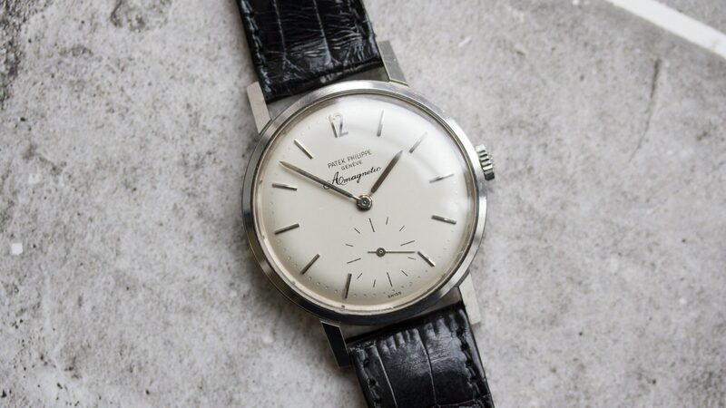 Bring a Loupe: A Patek Amagnetic Reference 3417, An Omega Seamaster Memomatic, A Military Longines 13ZN, And More