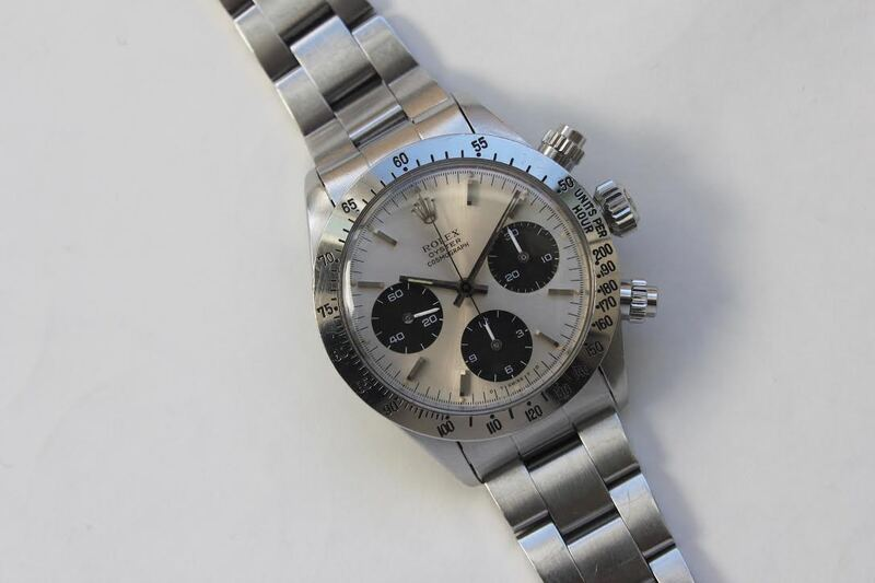 Bring a Loupe: A Selection Of Unusual Watches, Including A Military Rolex Daytona Reference 6265, A Girard-Perregaux Gyrodate Reference 9080, A Breitling Compass Reference 80940, And More