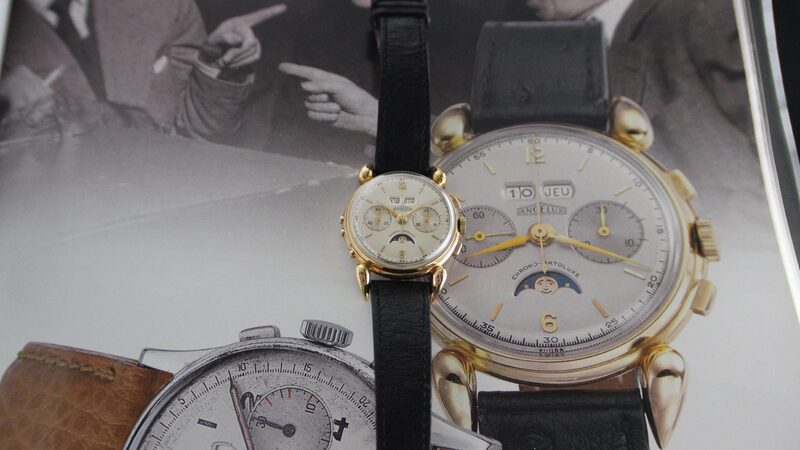 Bring a Loupe: A Stunning Angelus Chrono-Datoluxe, An Intriguing Rodania 'Viggen,' A Breitling Reference 34-31 Made For Soccer Referees, And Other Unusual Finds