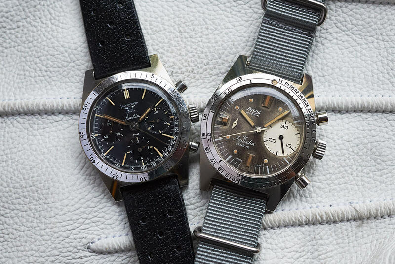 Bring a Loupe: A Transitional Jean Richard Airstar, A 'Big Bubbleback' Rolex Ref. 6106, A Military Heuer Carrera Ref. 7753, And More