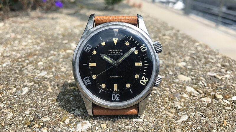 Bring a Loupe: An Original Jaeger-LeCoultre Geophysic, A Limited Edition Audemars Piguet Royal Oak, An Early Universal Genève Polerouter Sub, And More