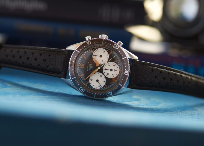 Bring a Loupe: The Most Expensive Example Of The Ultra-Rare Heuer Autavia 2446 Ever Offered (And More)