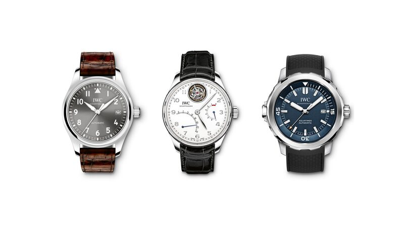 Business News: IWC To Sell Curated Selection Of Watches On Mr. Porter