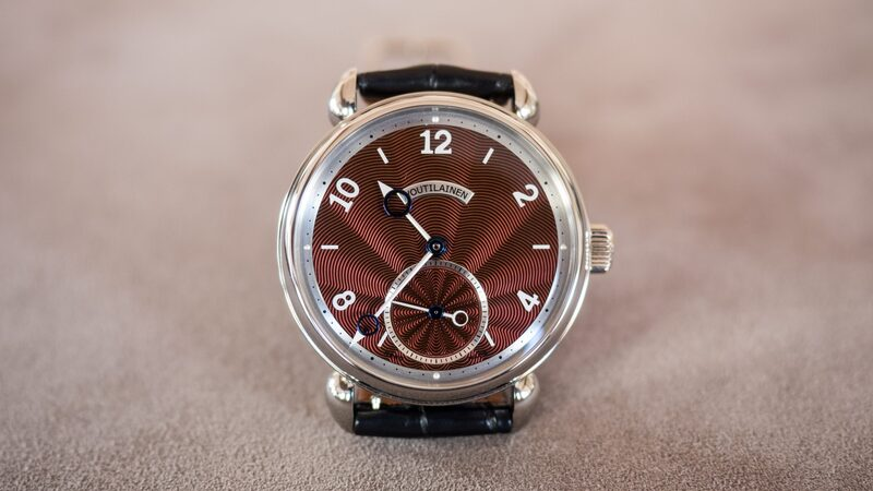Found: One Of Only 10 Kari Voutilainen Vingt-8 In Titanium (With An Incredible Burgundy Lacquer Guilloché Dial Too)
