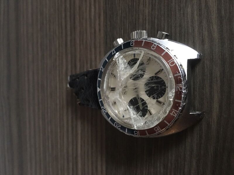Found: Original Owner of 1970s Heuer Autavia Lists Watch On Ebay, But Not Before Getting Into A Moped Accident