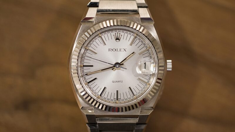 Found: Rolex's Very First Quartz Watch For Sale At Christie's