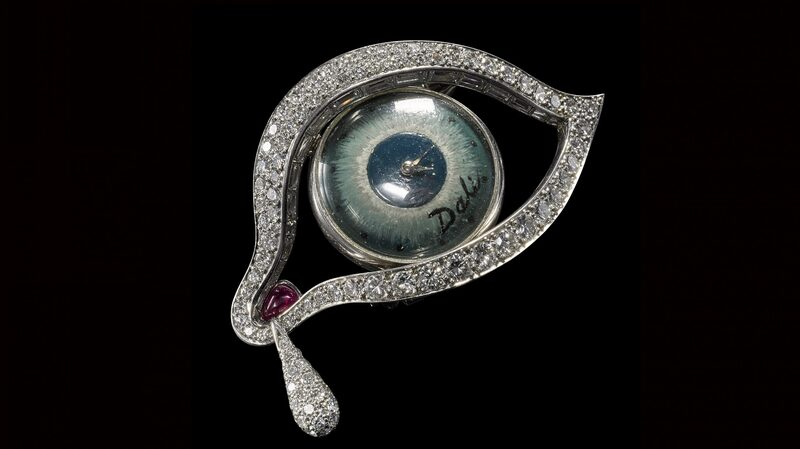 Found: Salvador Dalí's 'The Eye Of Time,' Easily One Of The Strangest Watches We've Ever Seen